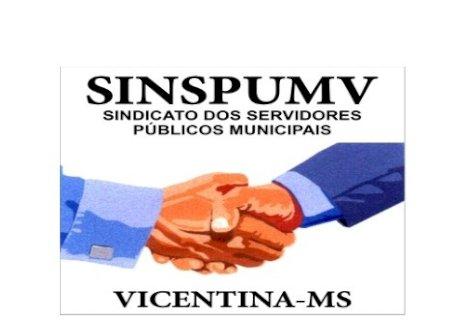Edital de convocação do sindicato municipal dos servidores públicos municipais de Vicentina