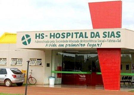 Homem de 61 anos morre com Covid-19, logo após dar entrada no Hospital da SIAS de Fátima do Sul