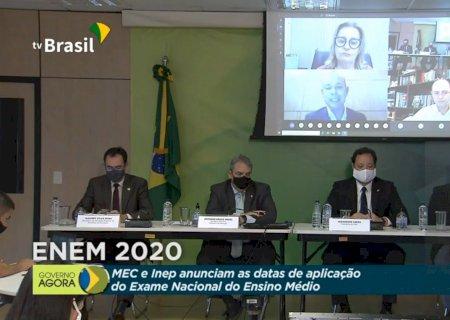 Inep confirma Enem 2020 para janeiro e fevereiro de 2021