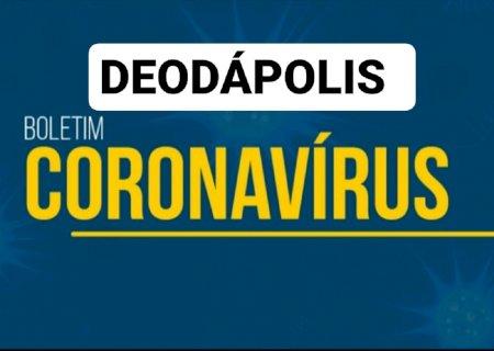 DESANDOU: Em novo boletim, casos confirmados sobem mais 08 e chega a 90 em Deodápolis