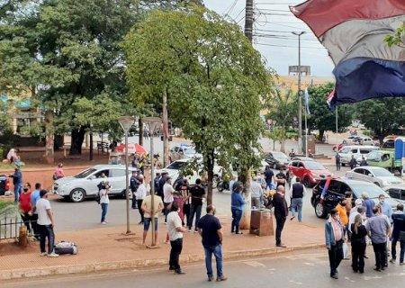 Comerciantes paraguaios fazem novos protestos para reabrir fronteiras