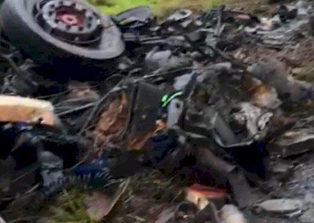 URGENTE: Acidente deixa dois mortos na MS 164 em Ponta Porã
