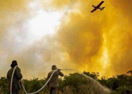 Enquanto Ibama segura recursos, queimadas expulsam 200 ribeirinhos do Pantanal