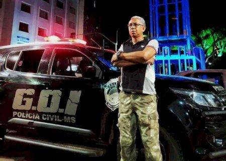 Policial morto por bandidos em tentativa de assalto atuava há 30 anos em MS