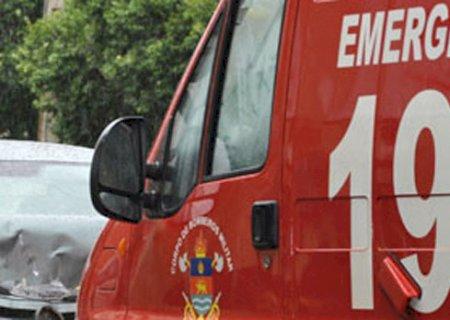 Homem é transferido para UTI em Dourados após colisão grave em Fátima do Sul
