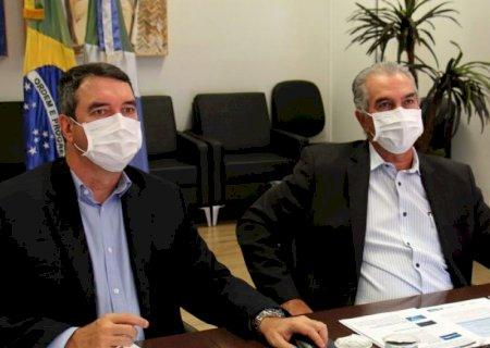 """""""Estamos saindo na frente\', diz Reinaldo sobre projeto de concessão da Sanesul"""