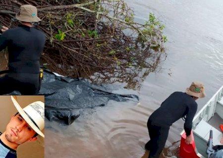 Jovem encontrado no rio tinha 20 anos e trabalhava como mecânico em Deodápolis