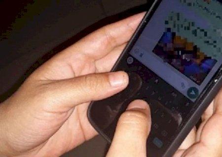 Ex-marido é preso depois de divulgar fotos nuas de mulher em grupos de WhatsApp em MS