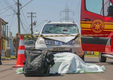 Deficiente visual morre atropelado ao atravessar Avenida Guaicurus na capital