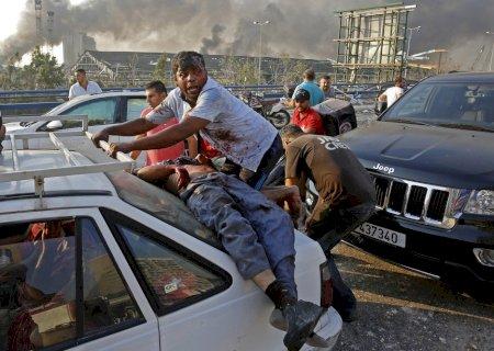Chega a 200 o número de mortes confirmadas por explosão no Líbano