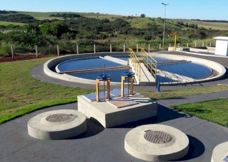 Aral Moreira: Governo do Estado e Sanesul entregam obras de esgotamento
