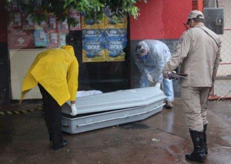 Homem é encontrado morto em calçada em Nova Andradina