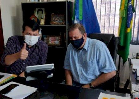 Deputado Eduardo Rocha \'leva\' Assembleia Legislativa de MS para o município de Vicentina