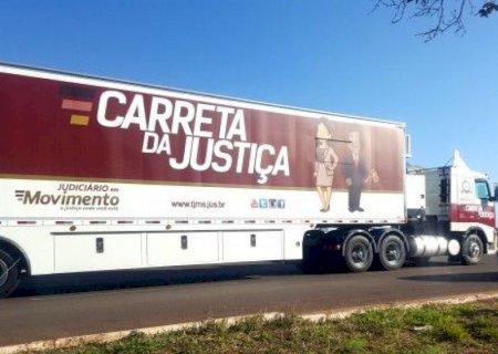 Carreta da Justiça volta a atender cidades do interior em novembro