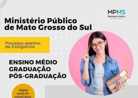 Ministério Público abre processo para contratação de estagiário em Fátima do Sul