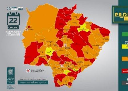 Governo atualiza grau de risco dos municípios de acordo com o Prosseguir