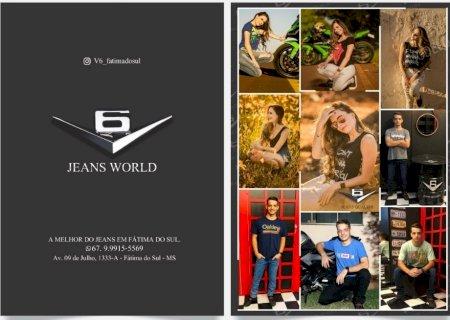 Confira nesta sexta-feira e sábado a inauguração da Loja V6 Jeans World em Fátima do Sul