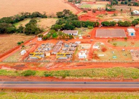 Sanesul entrega obras em Dourados avaliada em R$ 121 milhões