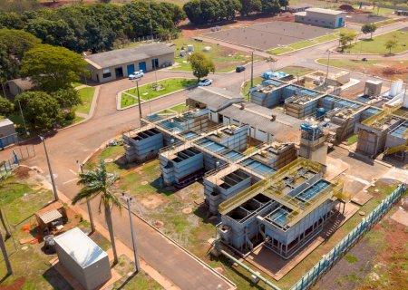 Produção e reservação de água tratada é ampliada em Dourados