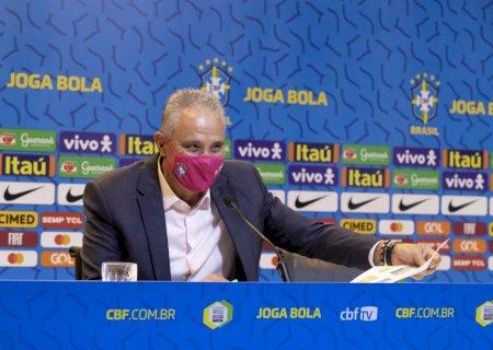 Tite convoca seleção para duelos contra Venezuela e Uruguai