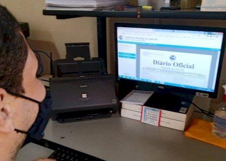 TRANSPARÊNCIA: Diário Oficial atinge 900 publicações em 3 anos e 8 meses em Jateí