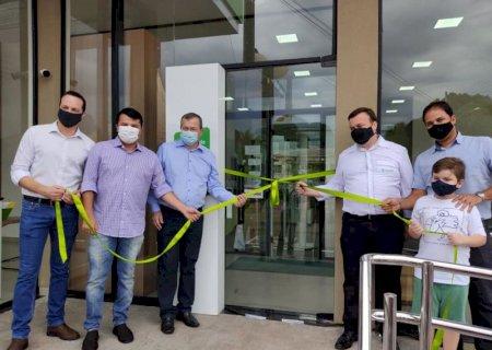 Inauguração do Sicredi é mais um passo dado no caminho do desenvolvimento, diz prefeito de Vicentina