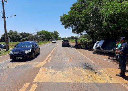 Mais um grave acidente é registrado na BR 376 em Vicentina
