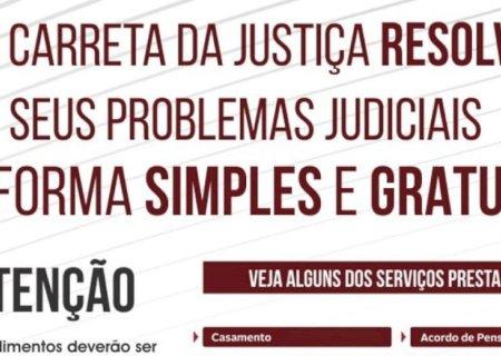 Alô Vicentina, Carreta da Justiça vai estar no município, resolva seus problemas judiciais gratuito