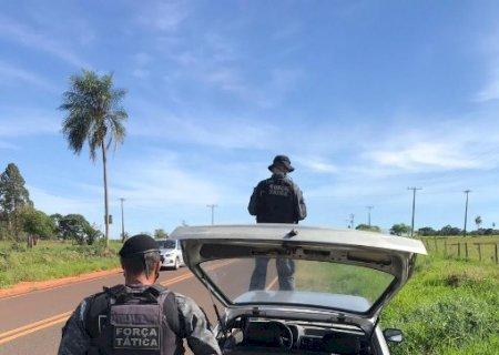 Força tática apreende 103 kg de maconha em Deodápolis