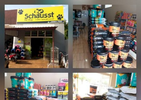 Schausst Pet Shop está com 30% de desconto em toda a loja nesta sexta-feira