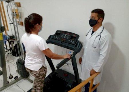 Jateí implanta fisioterapia especializada para reabilitar sequelados da covid-19
