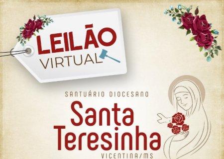 Santuário de Santa Teresinha em Vicentina/MS realiza o 1º Leilão Virtual