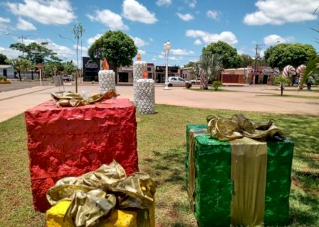 Com distanciamento e seguindo protocolos de biossegurança, Natal de Luz é preparado em Jateí