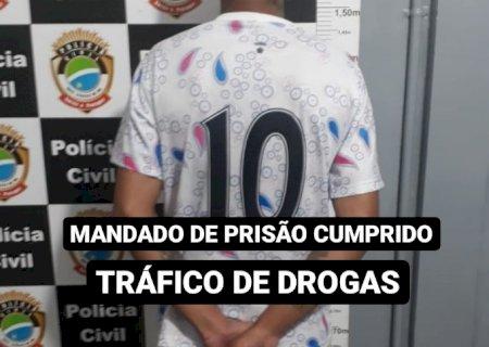 PM e PC de Deodápolis prendem acusado de tráfico de drogas