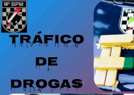 Força Tática flagra duas pessoas com droga em Deodápolis
