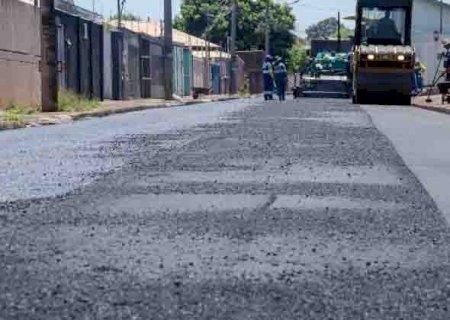 O seu está na lista? Prefeitura anuncia asfalto em mais 13 bairros de Campo Grande