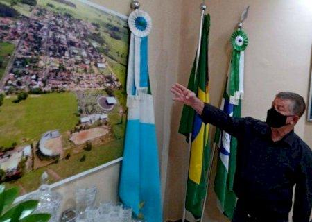 Prefeito Eraldo, esposa e filha são infectados pela covid e prefeitura é fechada por 7 dias em Jateí