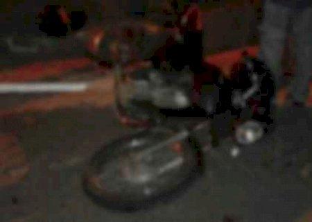 Em Deodápolis, homem morre atropelado por ônibus enquanto empurrava moto na MS-145