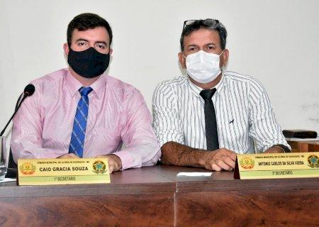 Caio e Tonhão apresentam projeto que torna comércios e serviços como atividades essenciais