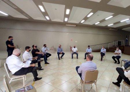 Comerciantes se reúnem com entidades para discutir combate à pandemia em Dourados