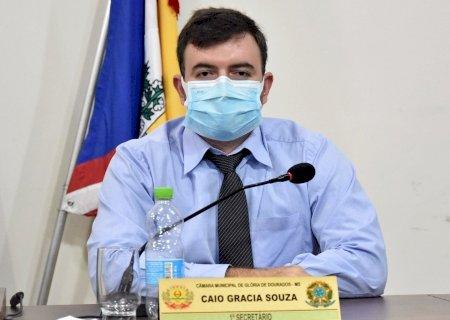 Caio Gracia solicita extensão de rede elétrica nas proximidades da UEMS