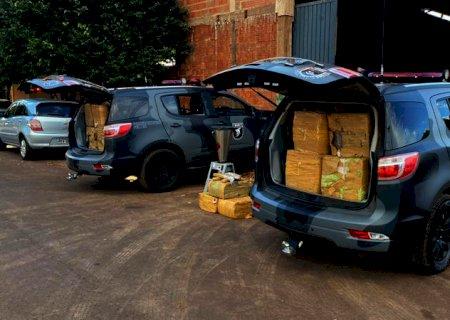 Polícia descobre depósito de maconha avaliada em mais de R$ 4 milhões em MS