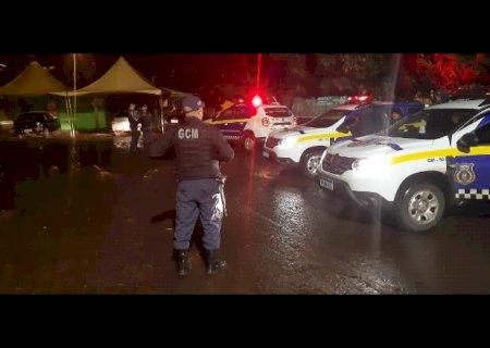 Fiscalização encerra festa com mais de 150 pessoas na Capital