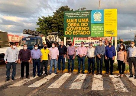 Ação de Zé Teixeira garante obras que estão transformando Caarapó