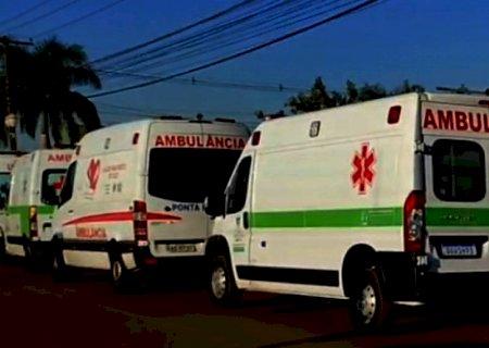 Fátima do Sul dá apoio com ambulâncias no transporte de 08 pacientes que serão enviados a Rondônia