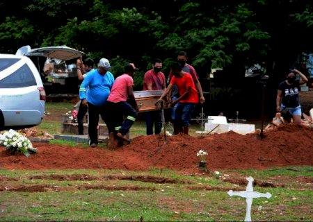Maior parte das mortes por Covid-19 são de homens em Mato Grosso do Sul