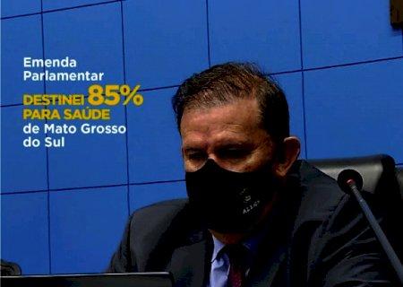 Deputado Eduardo Rocha destina 85% de suas emendas para a área da saúde de Mato Grosso do Sul