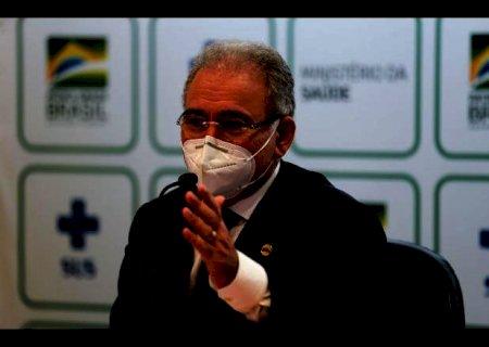 Queiroga diz que até dezembro 160 milhões de pessoas serão vacinadas no Brasil
