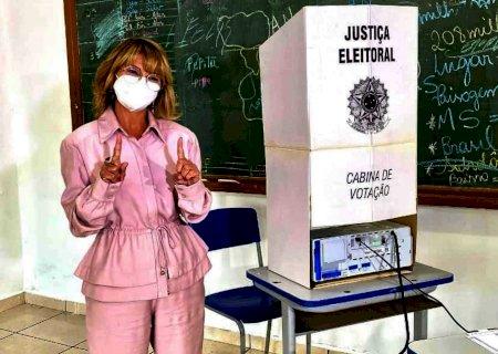 Com 52% dos votos, Vanda Camilo é eleita prefeita de Sidrolândia
