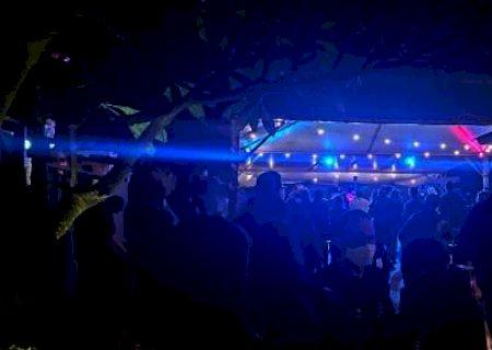 Em Campo Grande, Bar é lacrado por festa com aglomeração e fora do horário do toque de recolher